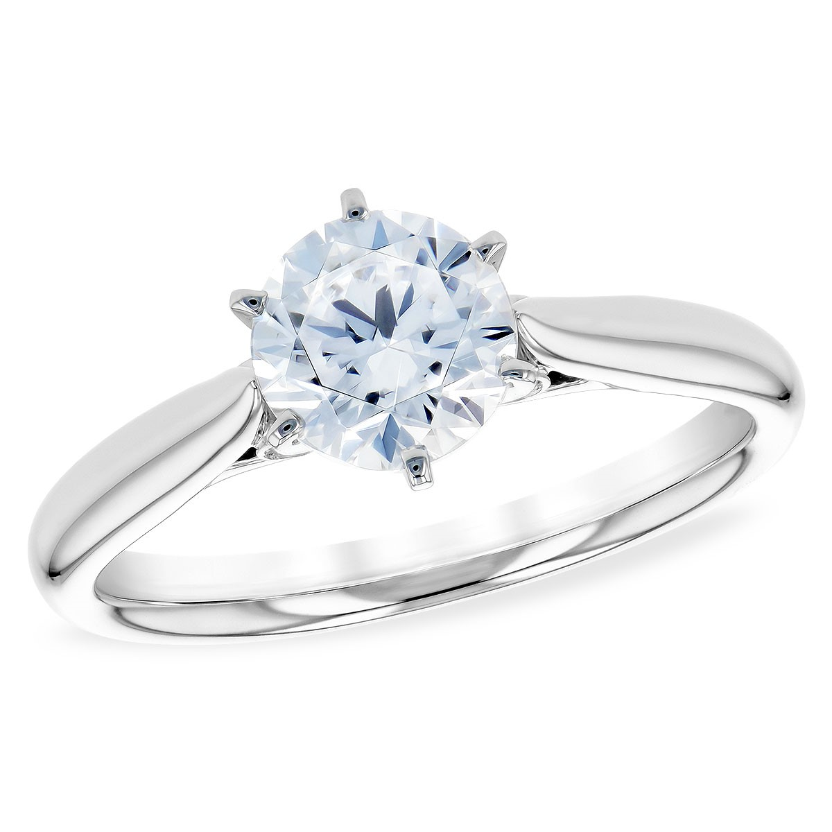 Classic, Elegant Engagement Ring by Allison Kaufman