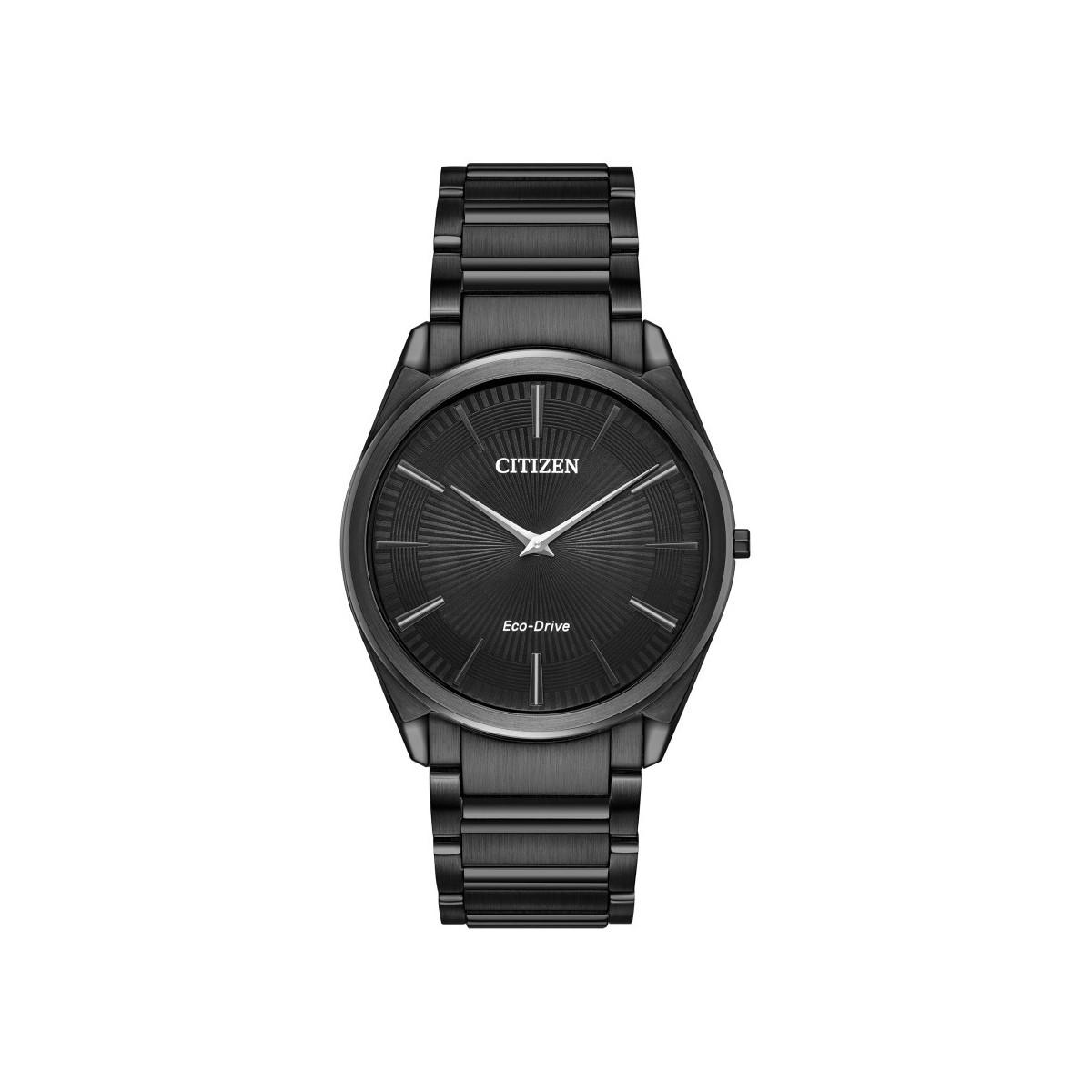 36f4eea7dc4e Citizen Stiletto Black Ultra-Thin Gents Watch 001-505-00564