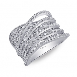 Silver Ring by Lafonn Jewelry
